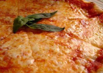 Pizze tonde rosse