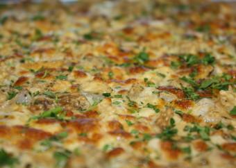 Pizze tonde bianche