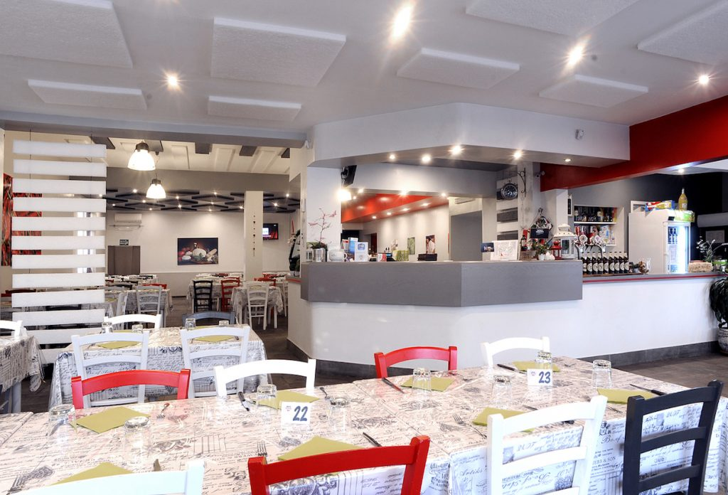 pizzeria palestrina rosso peperoncino sala