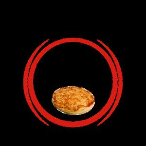 pizza tonda icona rp