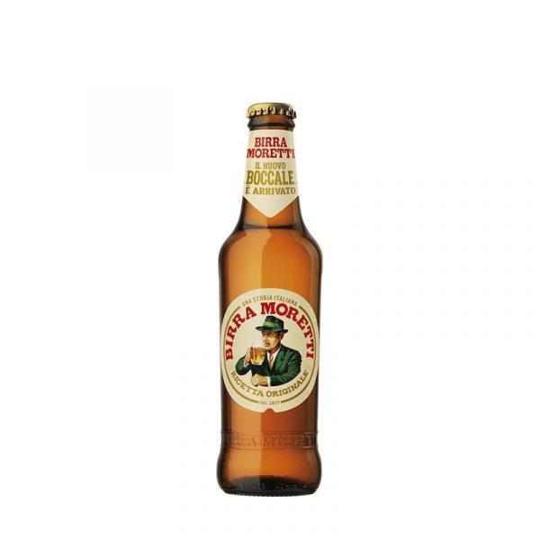 Birra moretti rosso peperoncino