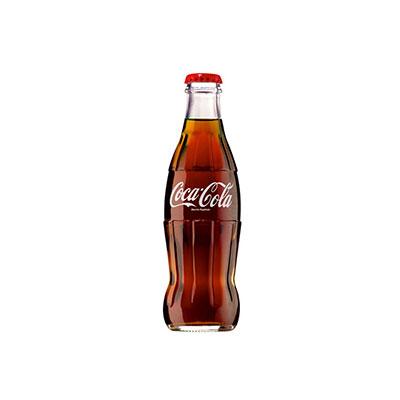Coca Cola in vetro piccola