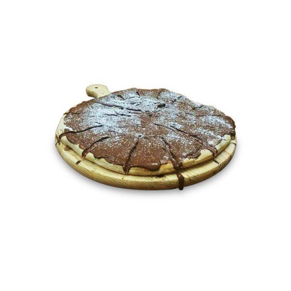 Pizza Pala con nutella