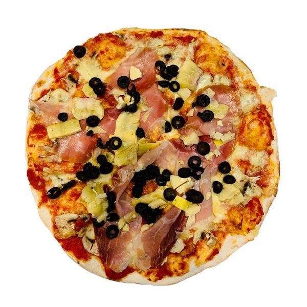 Pizza capricciosa Rosso Peperoncino