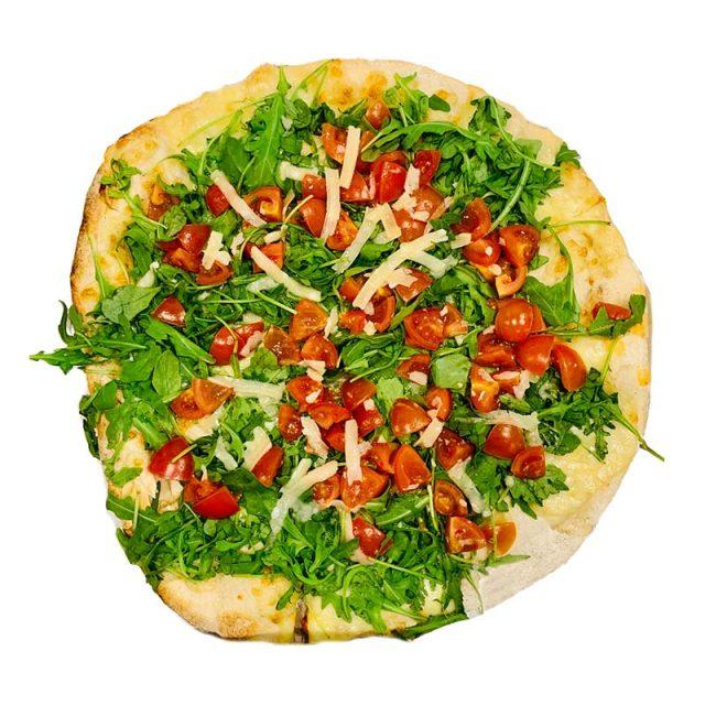 pizza rucola parmigiano pachino Rosso Peperoncino